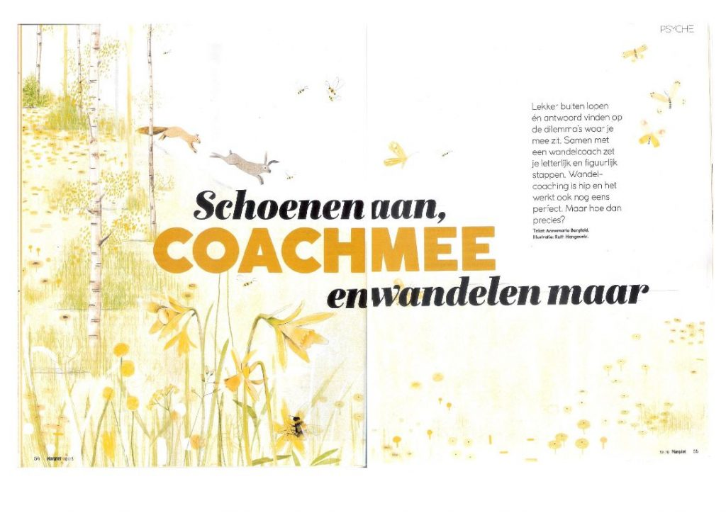 Interview in Margriet over Wandelcoaching