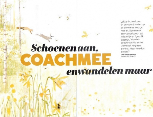 Interview in Margriet over Wandelcoaching!