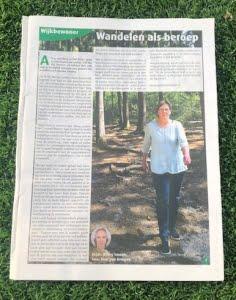 Wandelen als beroep RegisterWandelcoach Marian Zweers